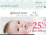 25% off Aden + Anais at The Patch General Store Online + FREE Delivery