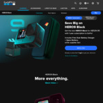 GoPro HERO9, HERO9 Black Dual Battery Charger, 32GB SD, Spare Battery & 1-Year GoPro Subscription $529.95 Delivered @ GoPro