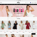 25% off Site Wide @ Ally Fashion