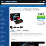 PowerColor Radeon RX 6600 Fighter 8GB RDNA 2 $569 + Delivery @ PC Case Gear