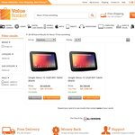 Google NEXUS 10 Wi-Fi Tablet from $478 (FREE Shipping and 12 Month Warranty)