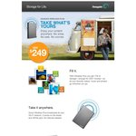 Seagate Wireless Plus 1TB Introduction Offer $229 Plus $20 Cash Back at JB and Officeworks