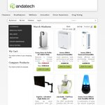 40% off Selected Health Items from Andatech - Juicers, Air Purifiers, Dehumidifiers, Humidifiers