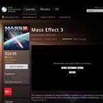 Mass Effect 3 PS3 for $24.95 Via PSN Store