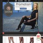 Free Facebook Promotion - Italian Stockings, Leggings, Tights & Fishnets