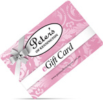 Peter's of Kensington eGift Card Pay $75 and Get $100 - 25% off
