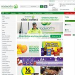 Get $10 OFF Orders of $50 or More with Woolworths Shop Online