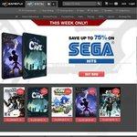 Up to 75% off SEGA Hits at GameFly