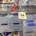 50% off Sistema 10pk Sealable Containers @ Woolworths Gilles Plains