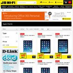 JB Hi-Fi iPad Sale till The End of 6/7/14