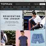 Free Shipping on All Orders at TOPMAN