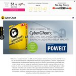 $0 CyberGhost 5 VPN Special Edition 6 Months