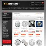 Gold Stackers Cyber Monday Bullion Deals, RCM Maplegram $50.xx, RCM Arctic Fox $35.xx + More