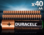 Duracell AA Batteries 40-Pack COTD $12 + Delivery
