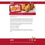 KFC 9 Pieces for $9.95 - ALL WEEK - Xpress App Required DATE EXTENDED