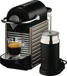 Nespresso Pixie Titan Color - $149 after Cashback ($219 up Front, Bargainable to $209) @ The Good Guys