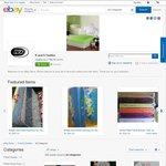 Jersey Cotton Bed-Sheet Doona Cover Sets $35 to $40 (Delivered) @ R and G Textiles eBay