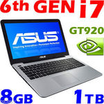 "ASUS X555UJ 6th-GEN CORE i7 6500U GeForce-GT920 8GB 1TB 15.6"" Laptop for $917.15 @Oz.buy eBay"