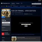 Far Cry Primal (Apex Digital Edition) Ps4 @AU PSN for $30.95 Was $109.95