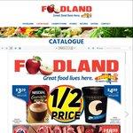 [SA] Foodland 1/2 Price: Connoisseur 1L $4.99, Heinz Ketchup 500ml $1.69/Sauce $1.35, Lipton Ice Tea 1.5L $2, John West $1 +More