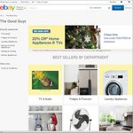 20% off Home Appliances & TV's @ The Good Guys eBay