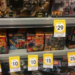 LEGO - Mighty Micros: 76063, 76065, 76066 for $10 and Clash of The Heroes 76044 for $15 on Clearance at Kmart Footscray