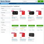Vodafone $50 Starter Kit $16, $30 Starter $10, Vodafone 4G Pocket Wi-Fi + 16GB $20, 4G Modem + 3GB $15 + More @ Harvey Norman