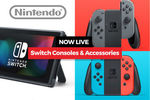 Nintendo Switch - Neon Red/Blue or Grey - $467 + $9.95 Post (Save Further $10 with MasterPass) @ COTD