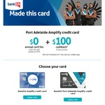 Receive a $100 Cash Back with a Bank SA Amplify Credit Card ($0 Annual Fee for The First Year)