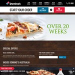 Domino's Premium Pizzas From $10.90 Pick Up Today Only
