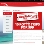 Rottnest Express Ferry $99 for 10 Return Trips (Normally $610) + WA Kids Free. (Island Admission Fees Payable)