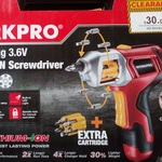 30% off Clearance Lines @ Repco This Weekend - Autoloading Lithium Screwdriver $21