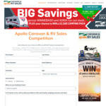 Win an All-Purpose Camping Pack Worth $2,500 from Apollo Caravan & RV Sales