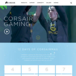 Win 1 of 12 Gaming Prizes from Corsair