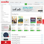 Koorong 20% off Everything in Stock 11-14 Dec Online or In-Store with Barcode