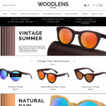 15% off All Handmade Bamboo Sunglasses @ Woodlens