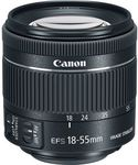 $89 Canon EF-S 18-55mm f4-5.6 IS STM Lenses (White Box) Delivered (HK) @ eGlobal