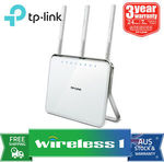 TP-Link Archer D9 Wireless AC1900 Dual Band ADSL2+ Gigabit Modem Router $102.60 Delivered @ Wireless1 eBay
