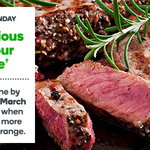 2000 Bonus Woolworths Rewards Points with $50+ Spend on Meat @ Woolworths Online