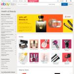 10% off Health & Beauty Category @ eBay (Min Spend $30)