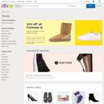 eBay - 10% off Footwear Categories (Min $50 Spend)