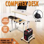 Computer Desk Sturdy Height Adjustable Standing Desk Office Home Sit Stand Table $32.87 Delivered @ x.warrior eBay