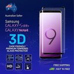Samsung Galaxy S9 S8 Plus 3D Tempered Glass-Case Friendly Edition Delivered for $4.49 @ NIKOGLOBAL eBay