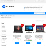 FLAT $80 off Storewide on All Refurbished Laptops, MacBooks, Tablets, Surface @ Renewd ($199 Minimum Spend) + Free Shipping