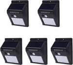 5x 30 LED Solar Powered Motion Sensor Garden Wall Light Price Cut US $34.59 (~AU $50.03) @ Tmart
