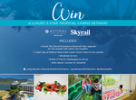 Win a Tropical Cairns Accommodation & Skyrail Package for 2 Worth $1,584 from Skyrail Rainforest Cableway