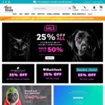 25% off Sitewide (Excludes Flea Tick & Worming & Prescription & Veterinary Diets) at Pet House Superstore