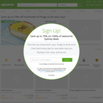 10% off Sitewide Offer (Max Discount $40, Unlimited Redemptions) @ Groupon