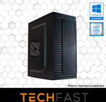 Gaming PC with Intel i3-8100 GTX 1050ti 4GB 120GB $584, Intel i5-8400 RTX 2080 8GB & Battlefield V $1574 Shipped @ Techfast eBay