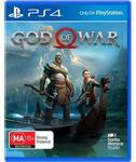 [PS4] God of War 2018 + 3 Months Stan Standard Plan for $39 @ JB Hi-Fi